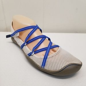 J41 Outdoor Water Shoes Sandals DIVA Blue White